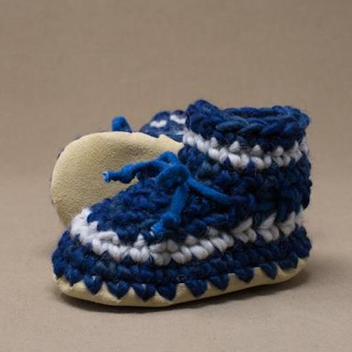 padraig baby slippers denim at twang and pearl