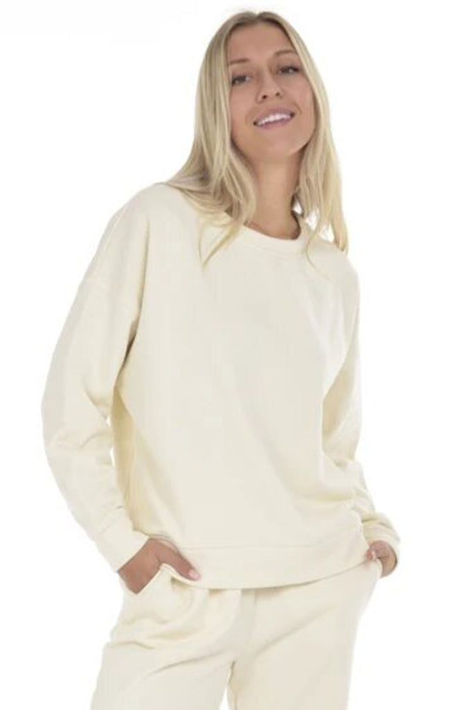Shirts & Tops - Paper Label Sunday Pullover in Natural