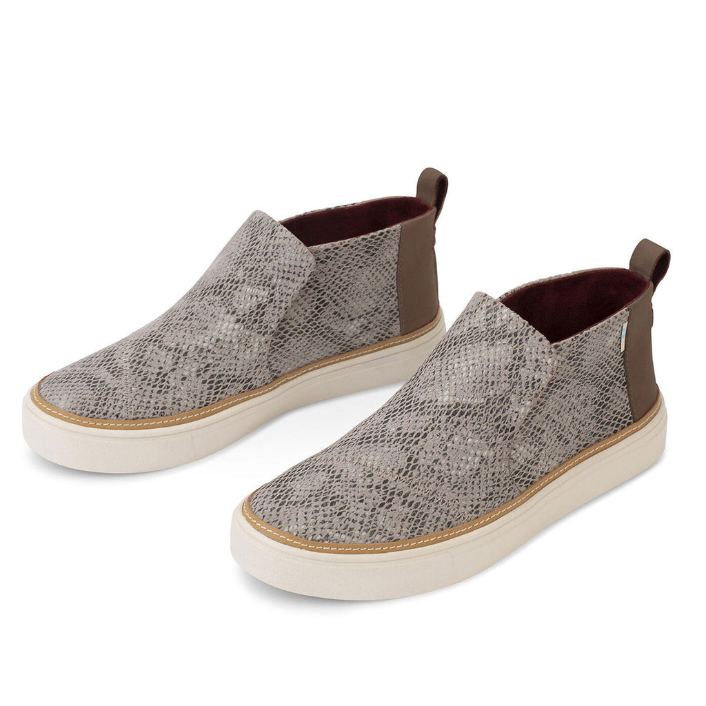 TOMS - Paxton Sneakers - Cobblestone Snake