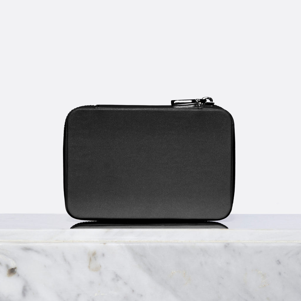 Pixie Mood Blake Travel Jewellery Case Black at Twang and Pearl