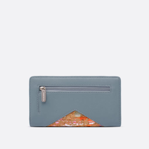 Pixie Mood Sophie Wallet | Mineral Blue, Vegan Leather