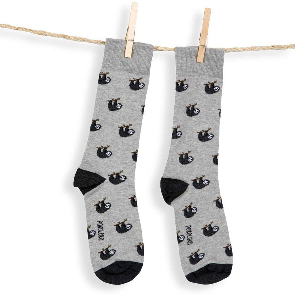 Pokoloko Pima Socks Sloth at Twang and Pearl