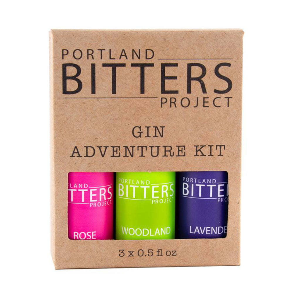 Portland Bitters Gin Adventure Kit 3 Pack at Twang and Pearl