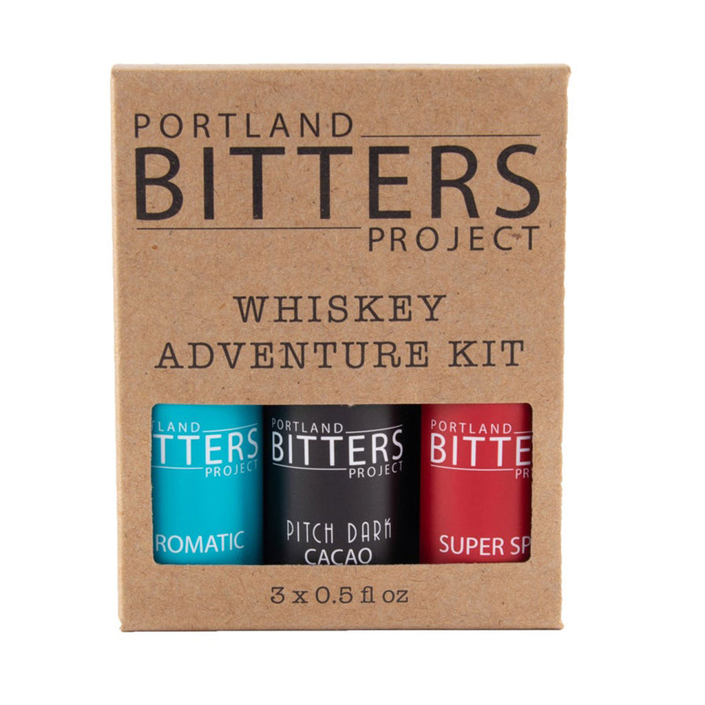 Portland Bitters Whiskey Adventure Kit 3 Pack at Twang and Pearl