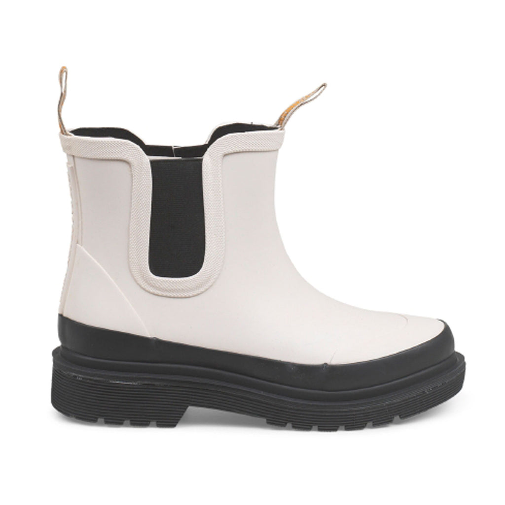 Ilse Jacobsen Chelsea Rubber Boots in Milk Creme at Twang and Pearl
