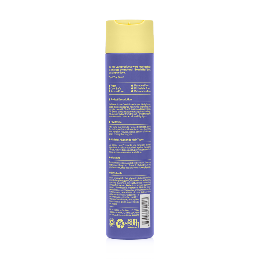 Sun Bum Purple Blonde Conditioner