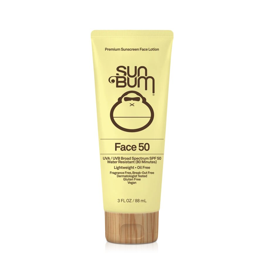 Sun Bum Blonde Face Sunscreen Lotion SPF 50 at Twang and Pearl