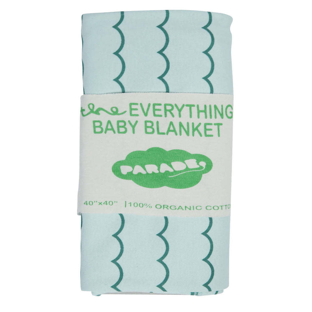 Parade Everything Baby Blanket Big Blue Wave at Twang and Pearl