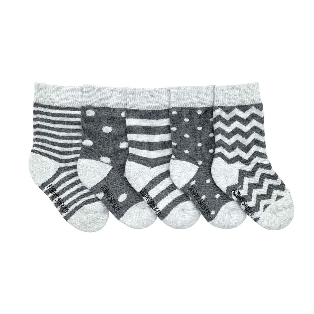Friday Sock Co Baby Mismatched Socks Stripe and Dot