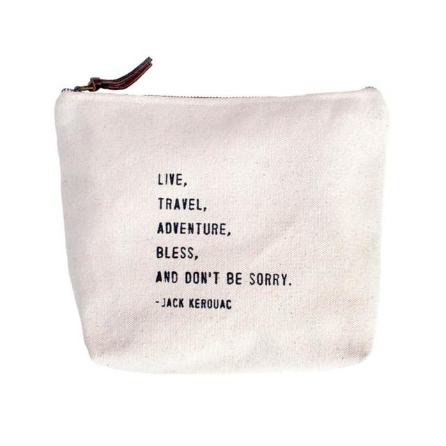 Sugarboo Canvas Bag Don't Be Sorry at Twang and Pearl