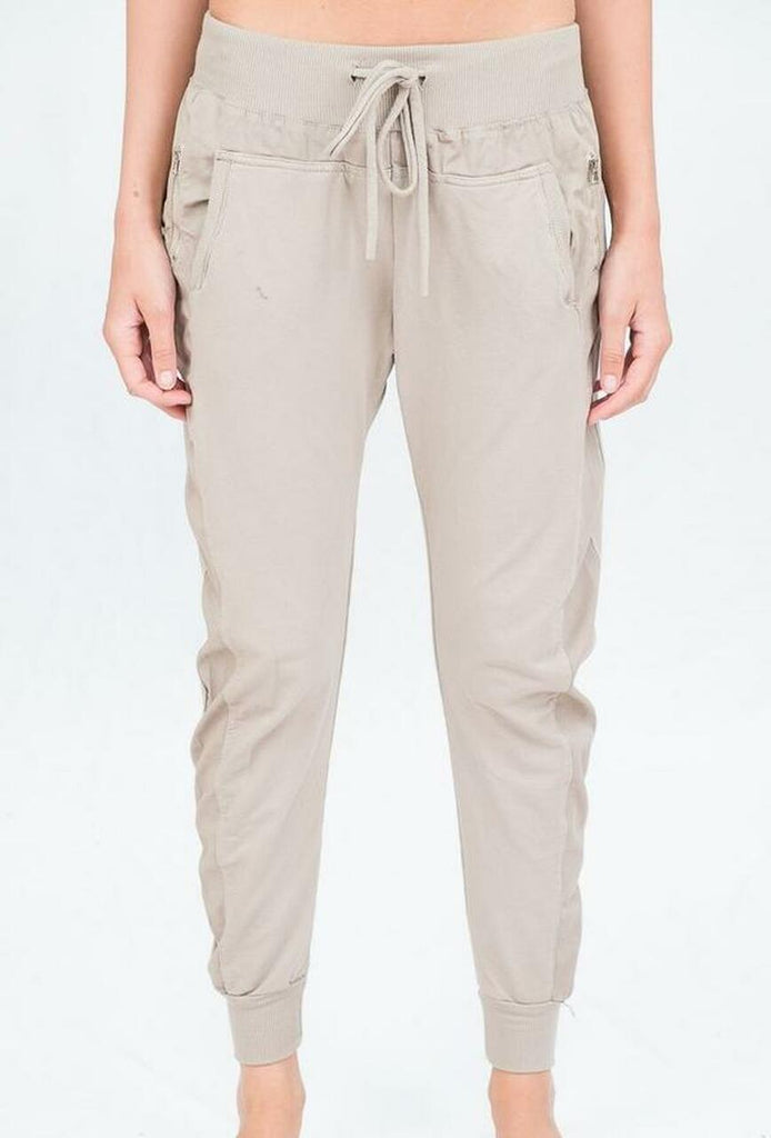 Suzy D Ultimate Joggers Beige