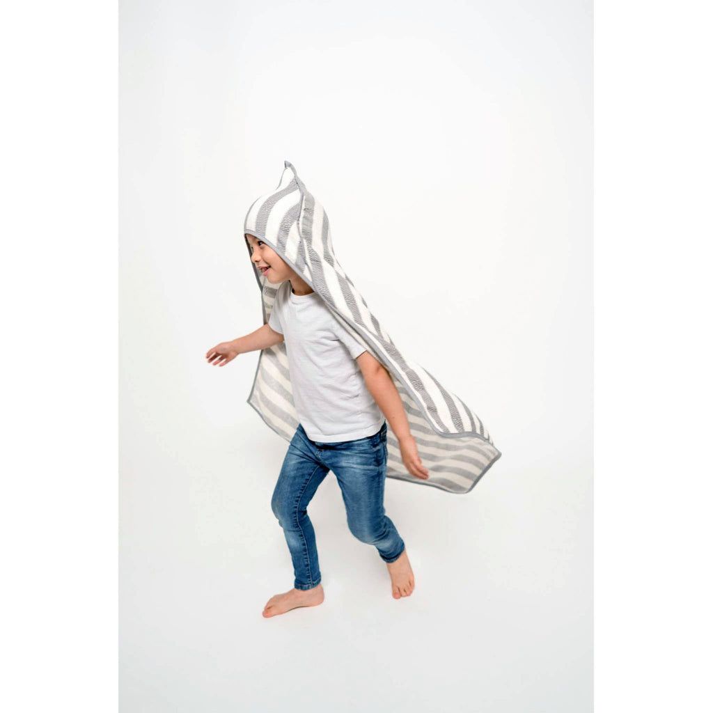 Pokoloko - Kids Hooded Towel - Slate