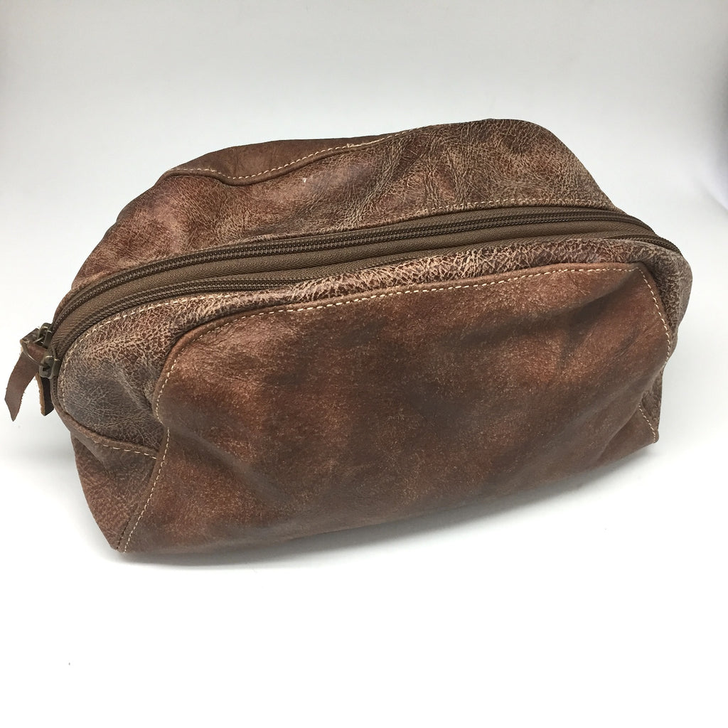Twang & Pearl - Leather Dopp Bag