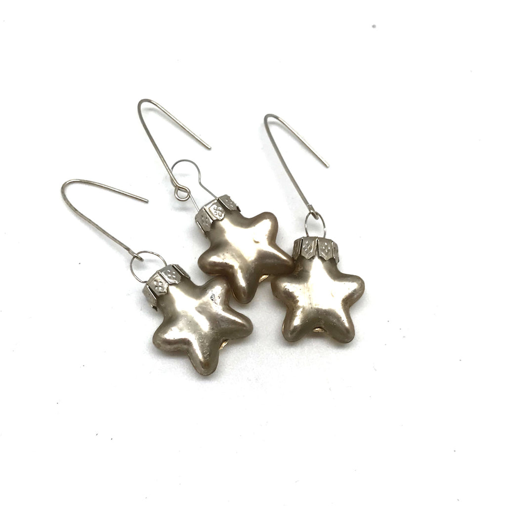 Tiny Mercury Star Ornaments