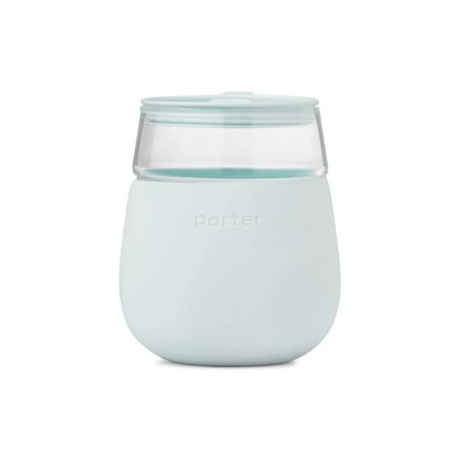 W&P Designs Porter Wine Tumbler Mint at Twang and Pearl