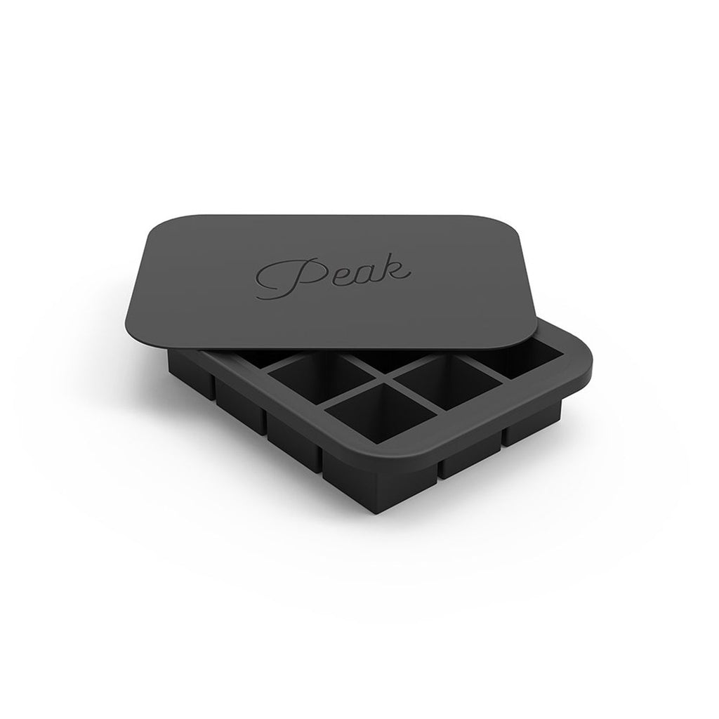 W and P Designs Everyday Peak Ice Cube Tray Charcoal at Twang and Pearl