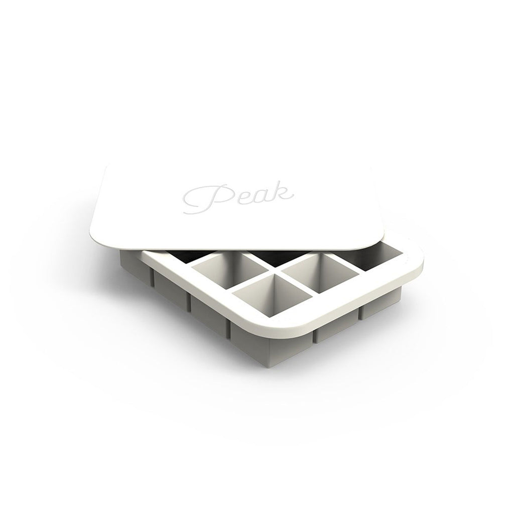 W and P Designs Everyday Peak Ice Cube Tray White at Twang and Pearl