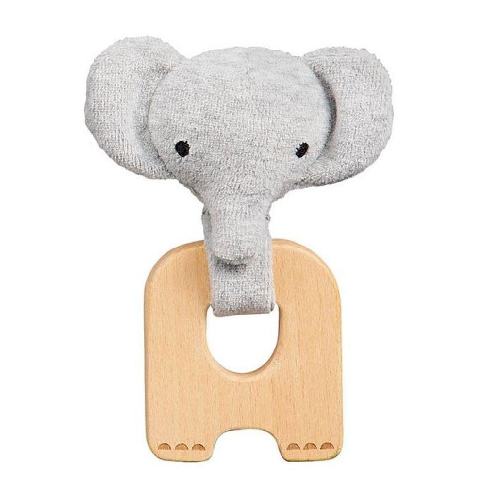 Petit Collage Organic Teether Elephant at Twang and Pearl