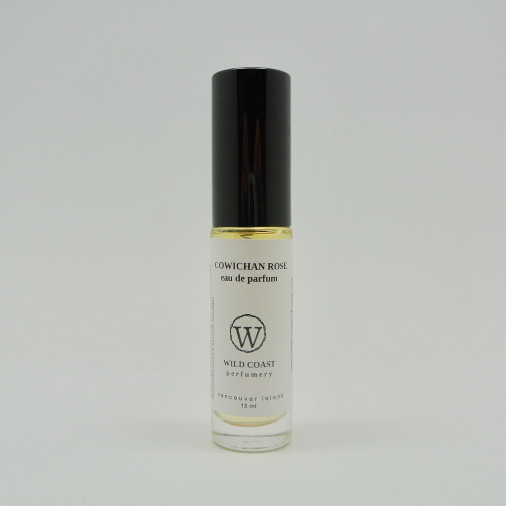 wild coast perfumery eau de parfum 15ml cowichan rose at twang and pearl