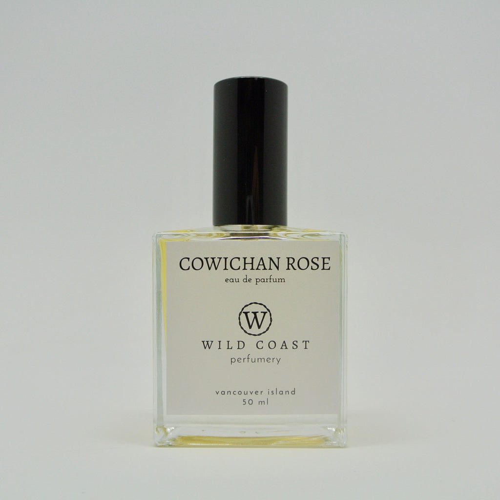 wild coast perfumery eau de parfum 50ml cowichan rose at twang and pearl