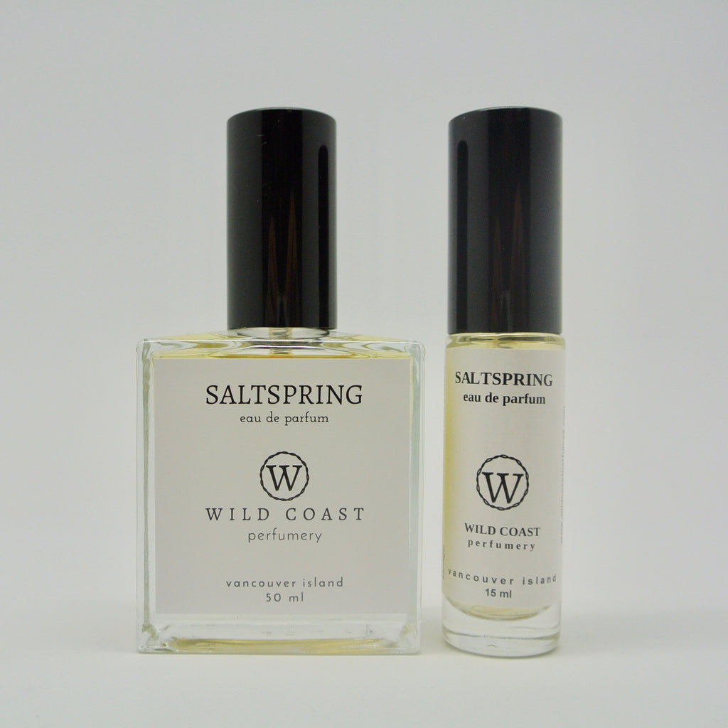 wild coast perfumery salt spring island in 50ml and 15ml at twang and pearl