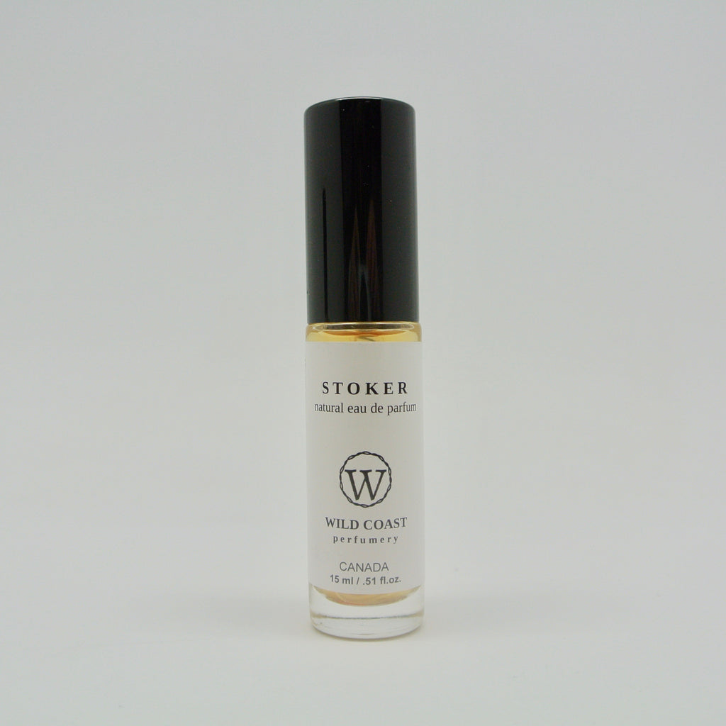 wild coast perfumery stoker in 15ml at twang and pearl
