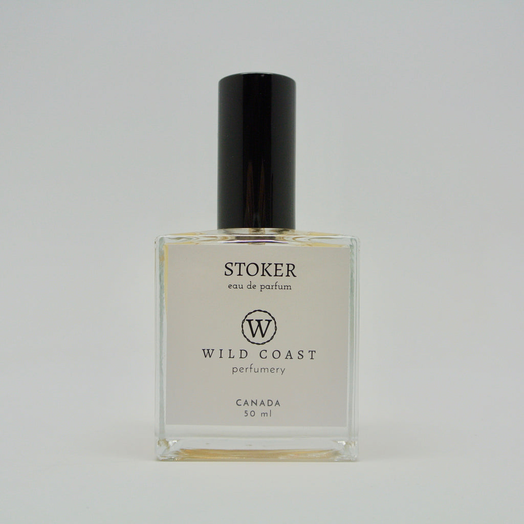 wild coast perfumery stoker in 50ml at twang and pearl