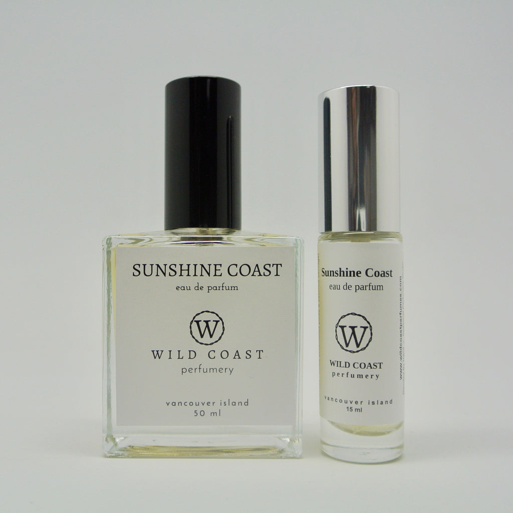 wild coast perfumery eau de parfum 50ml and 15ml sunshine coast at twang and pearl