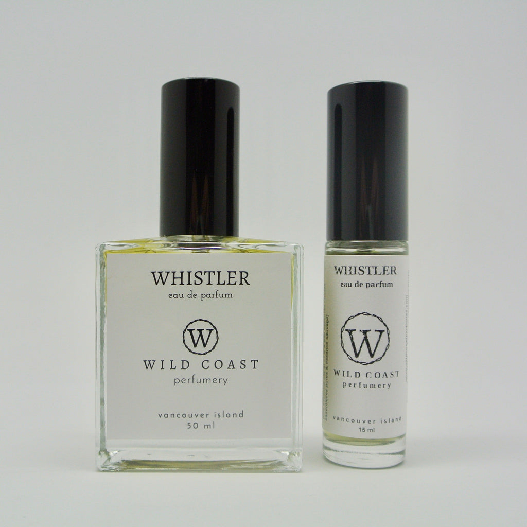 wild coast perfumery eau de parfum 50ml and 15ml whistler at twang and pearl