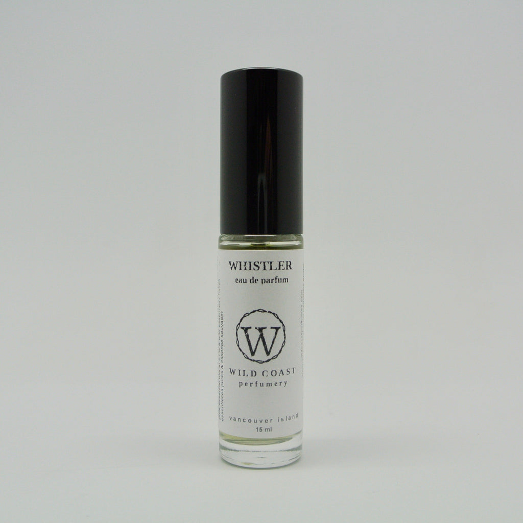 wild coast perfumery eau de parfum 15ml whistler at twang and pearl