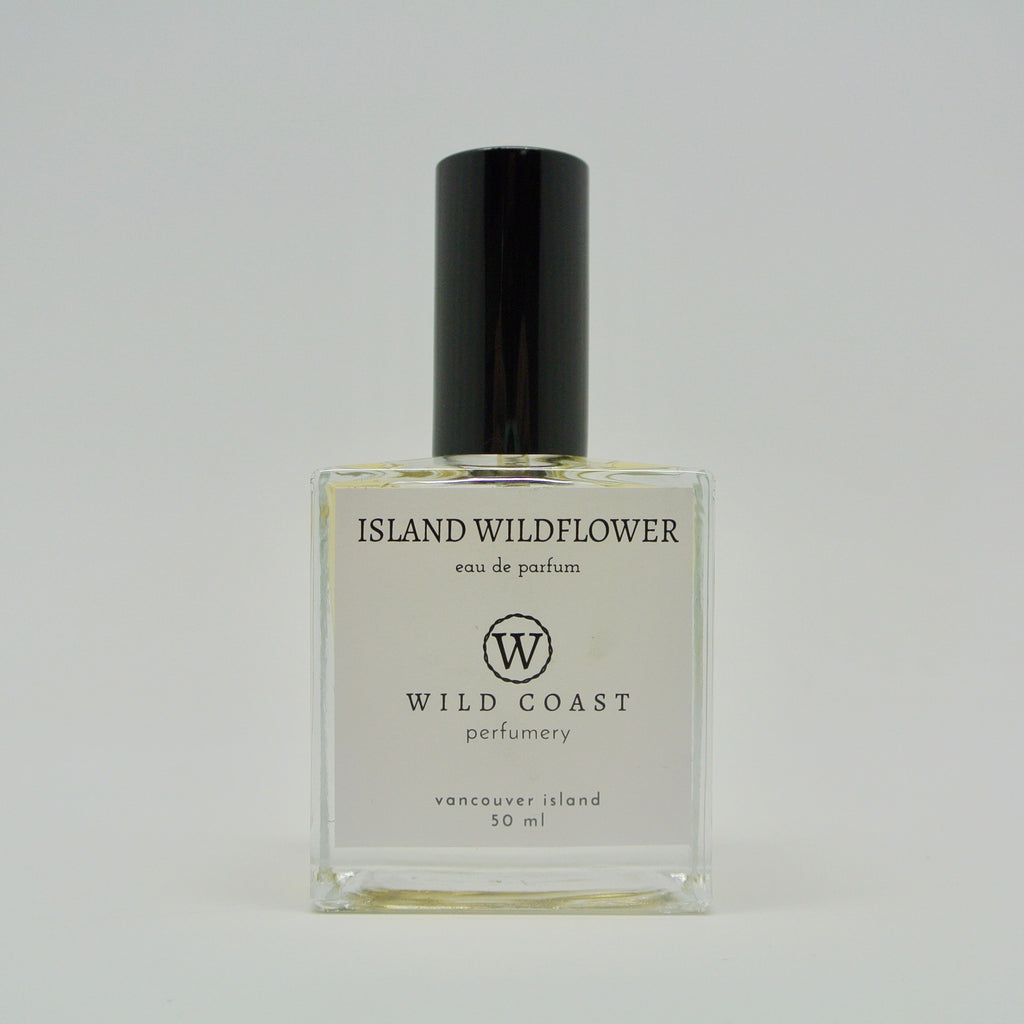 wild coast perfumery island wildflower in 50ml at twang and pearl