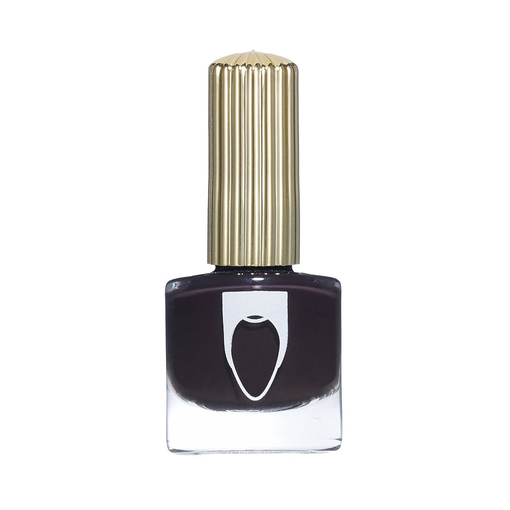 floss gloss nail polish in party bruise at twang and pearl