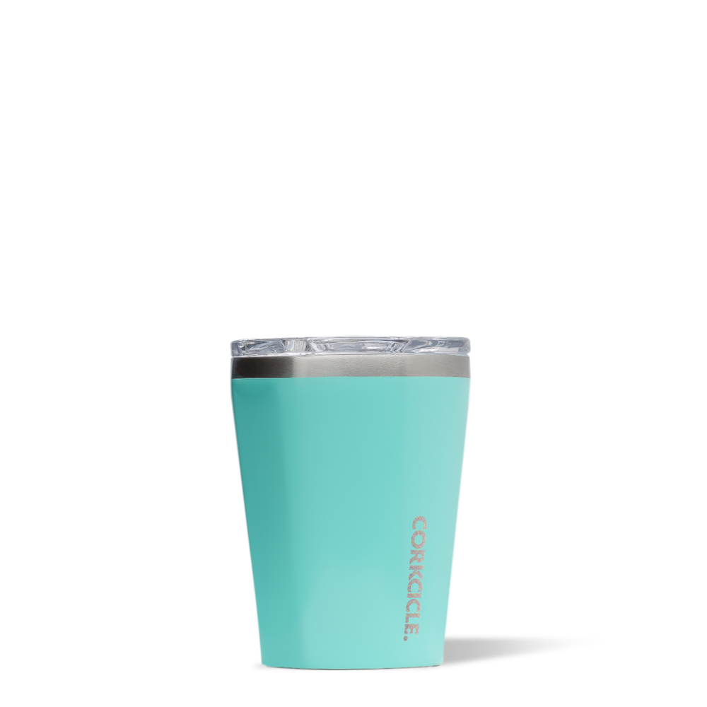 corkcicle 12 oz tumbler gloss turquoise at twang and pearl