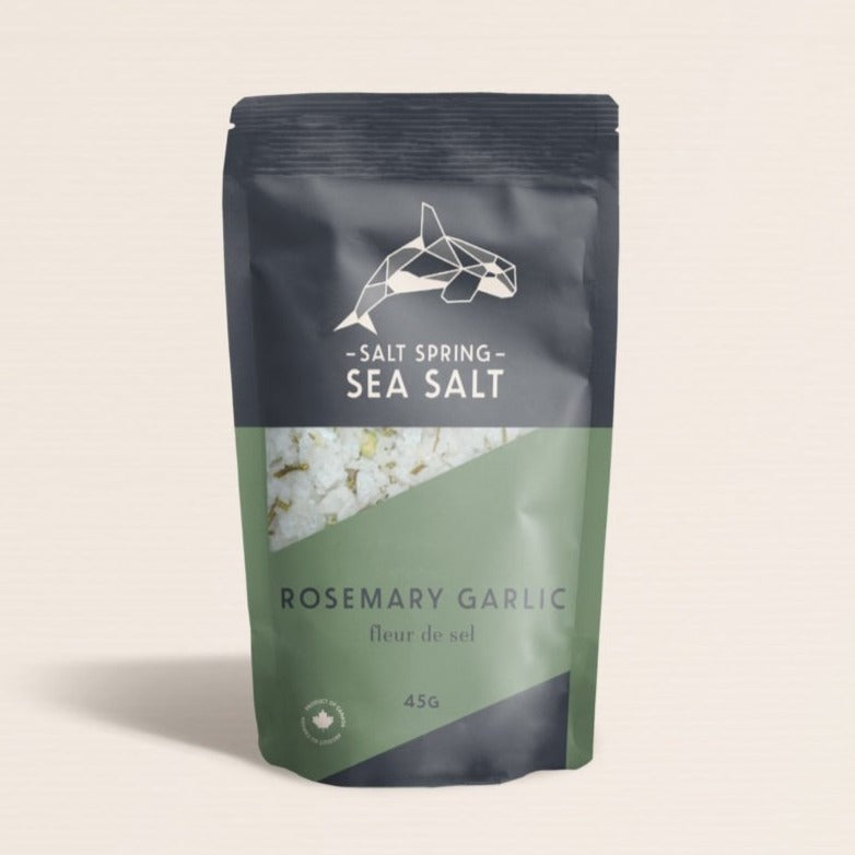 Salt Spring Sea Salt Rosemary Garlic at Twang and Pearl