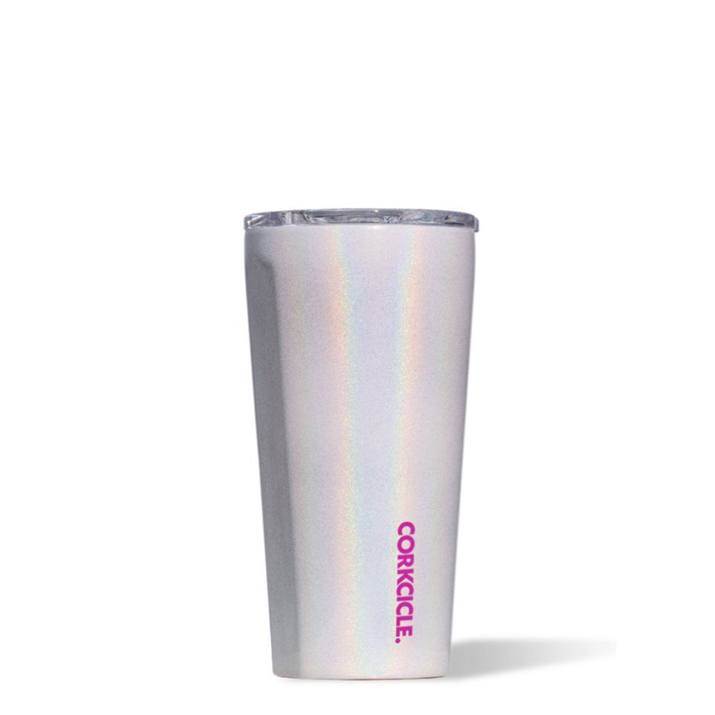 corkcicle tumbler 16oz sparkle unicorn magic at twang and pearl
