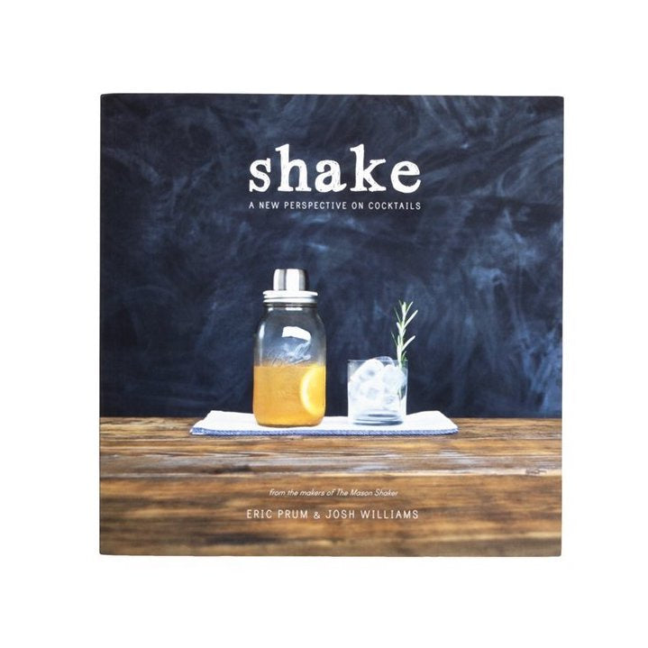 W&P Designs SHAKE craft cocktail book at twang and pearl