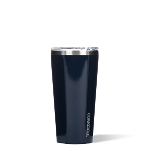 corkcicle 16 oz tumbler gloss navy at twang and pearl