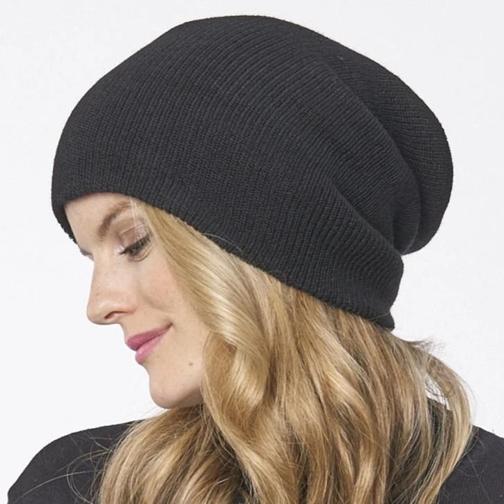 twang and pearl parkhurst beanie black