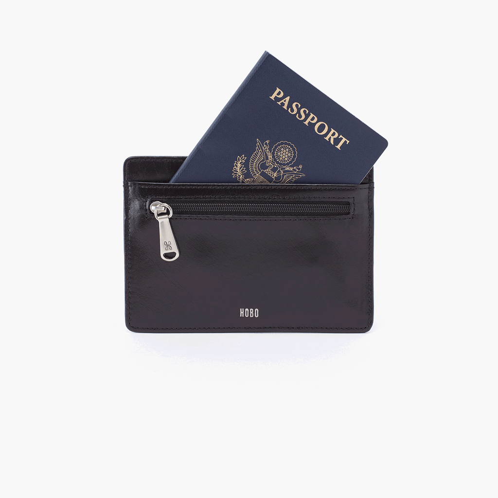 Hobo Wallet Euro Slide Black at Twang and Pearl
