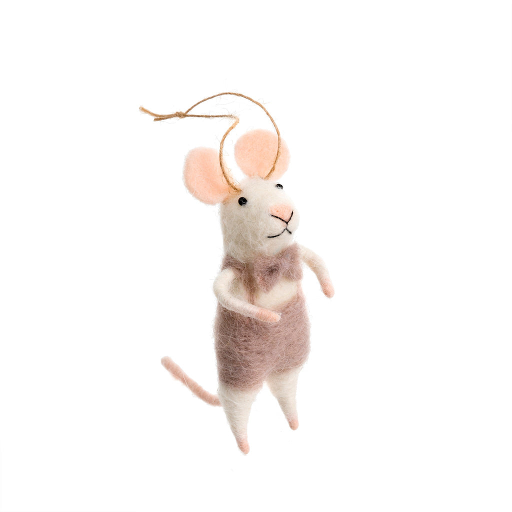 Mouse Ornament - Monsieur Mouse