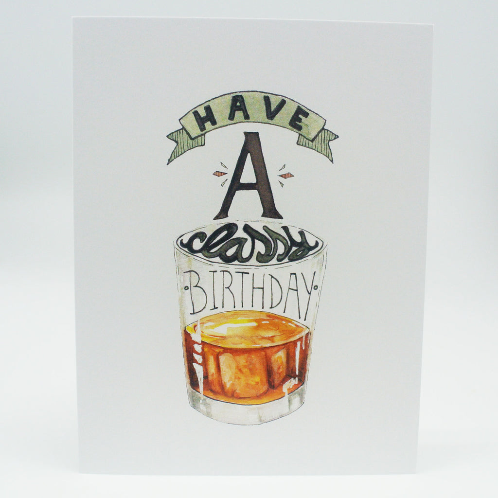 twang and pearl hello yellow canary birthday card