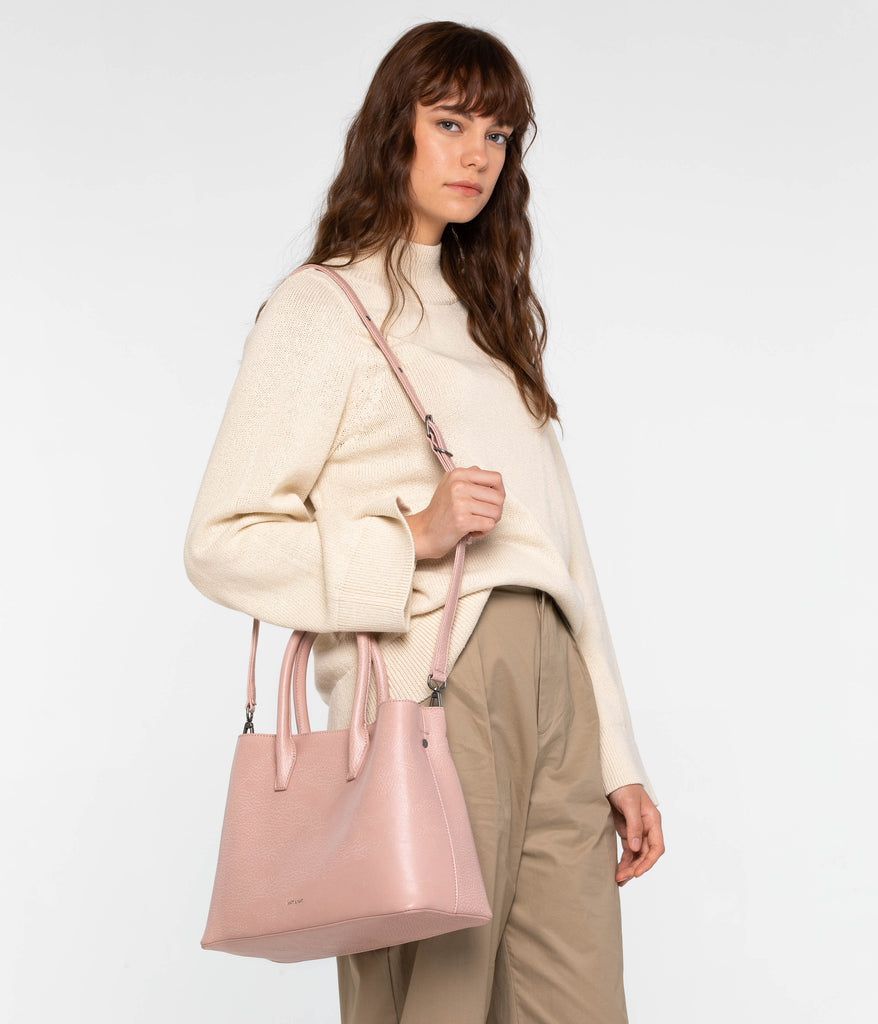 Matt and Nat Small Krista Satchel with adjustable and removable strap at Twang and Pearl