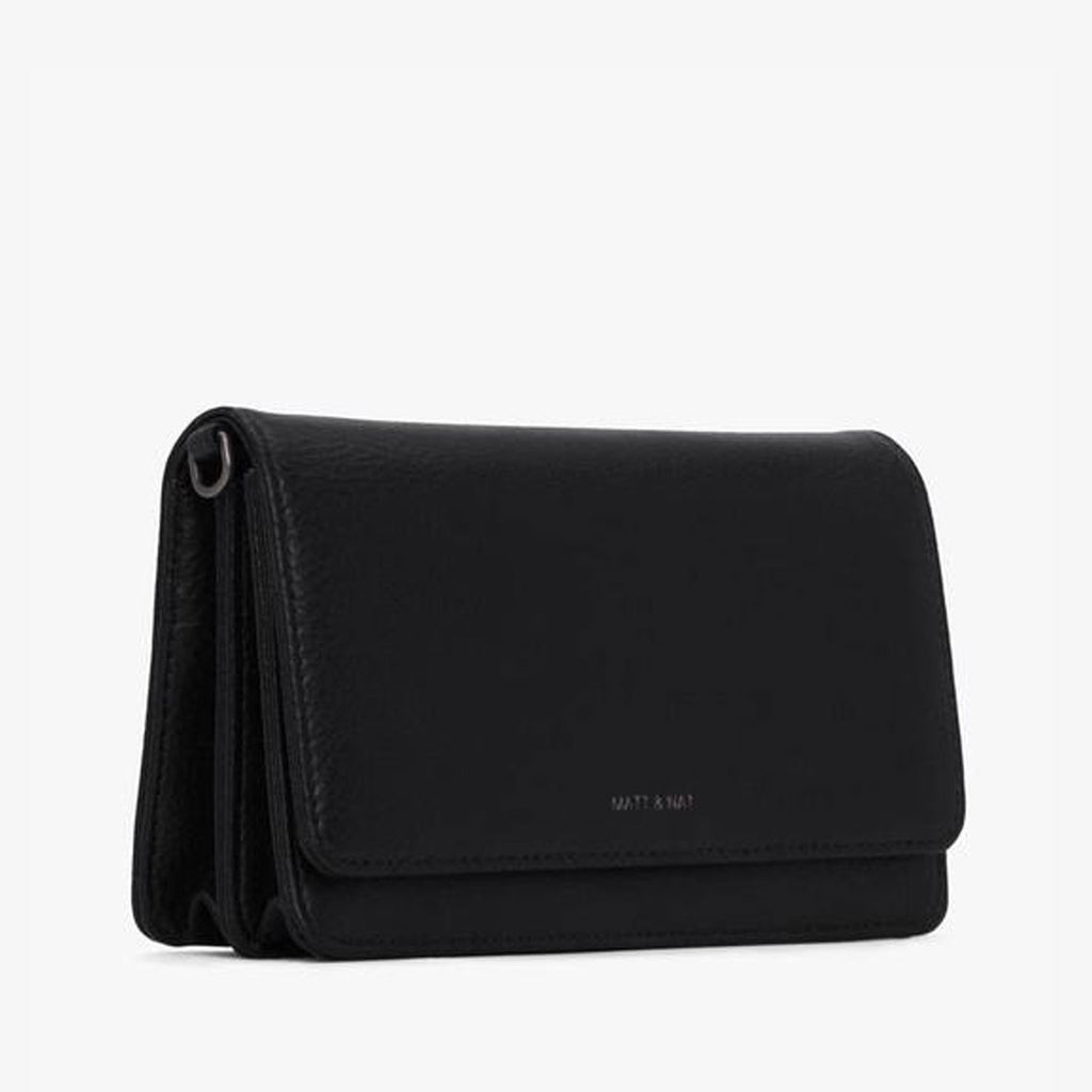 Matt and Nat Crossbody Bee Bag in Black at Twang and Pearl