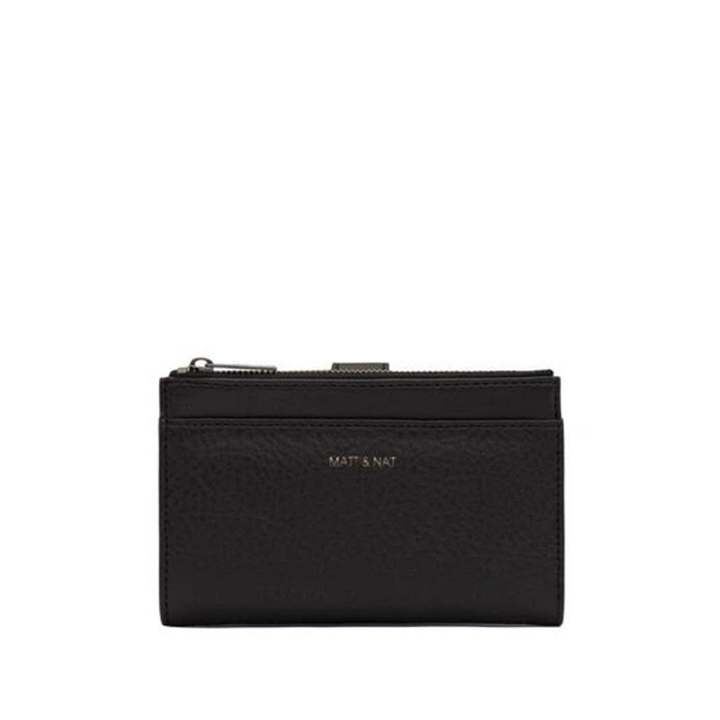 Matt and Nat Small Motiv Wallet in Black at Twang and Pearl