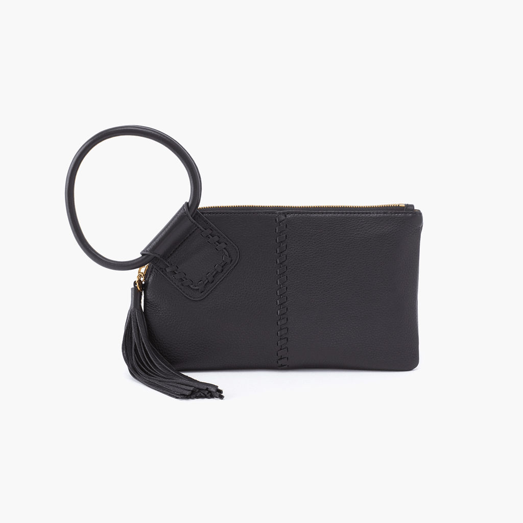 hobo bag sable black velvet hide at twang and pearl