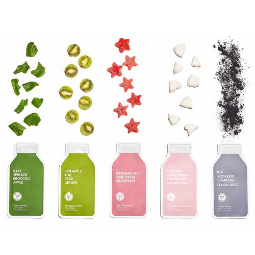 Compressed Skin Care Mask Sheets - ESW Beauty Raw Juice Mask Set