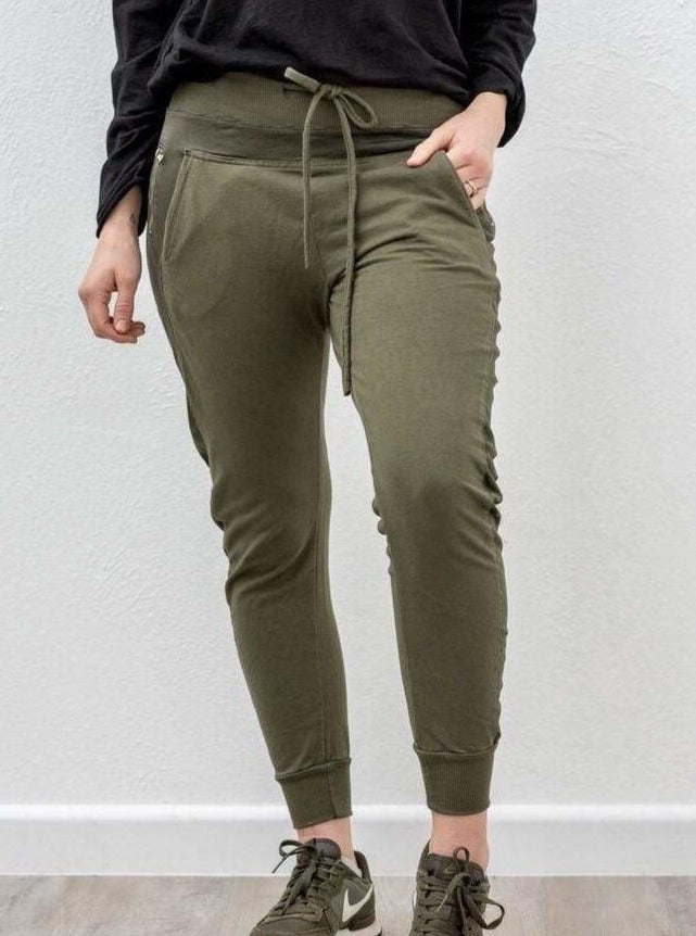 Suzy D London - The Ultimate Jogger - Dark Olive