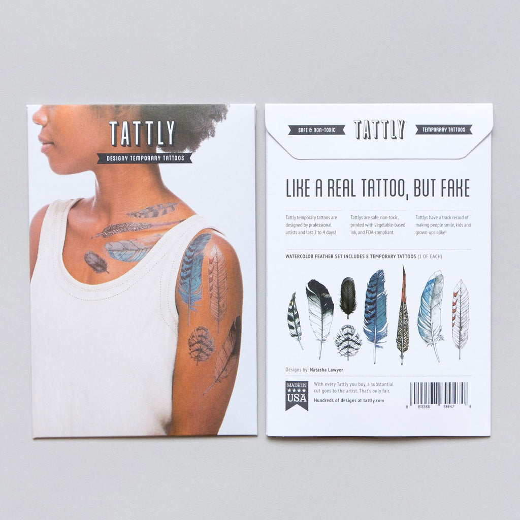 twang and pearl temporary tattoos by Tattly