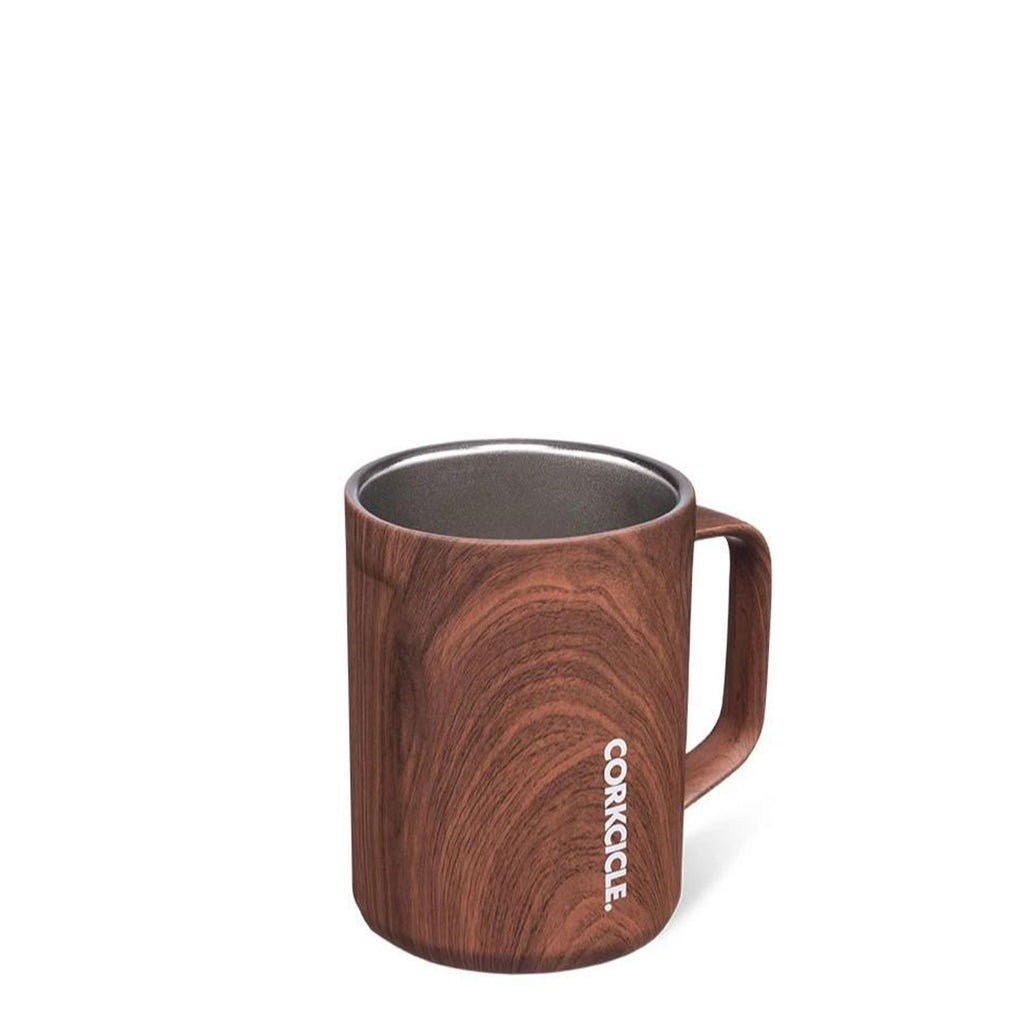 corkcicle mug walnut at twang and pearl