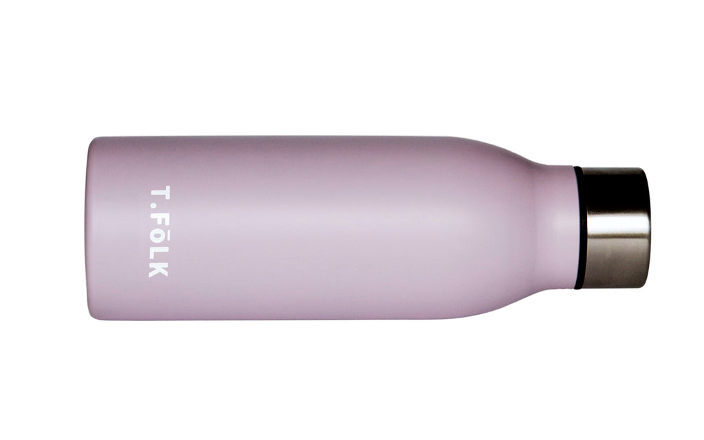 PINK Matte Stainless Steel Insulated Water Bottle